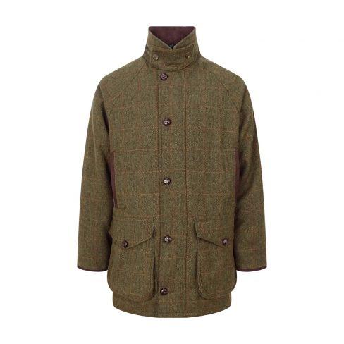 Hoggs of Fife Harewood Lambswool Tweed Shooting Coat