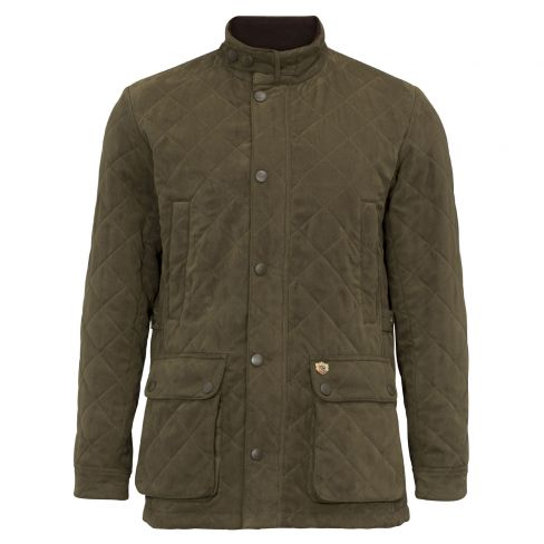 Felwell Men's Quilted Jacket Dark Olive