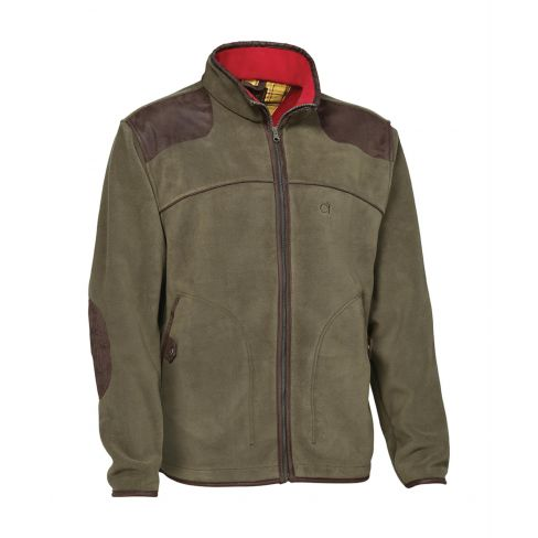 Stuart Two Layer Fleece Jacket Khaki