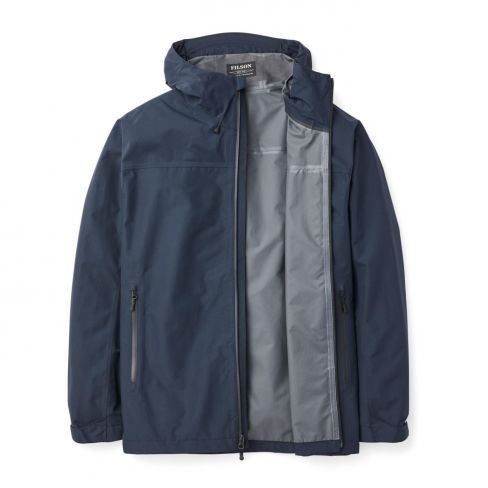 Filson Men's Swiftwater Rain Jacket - Dark Denim