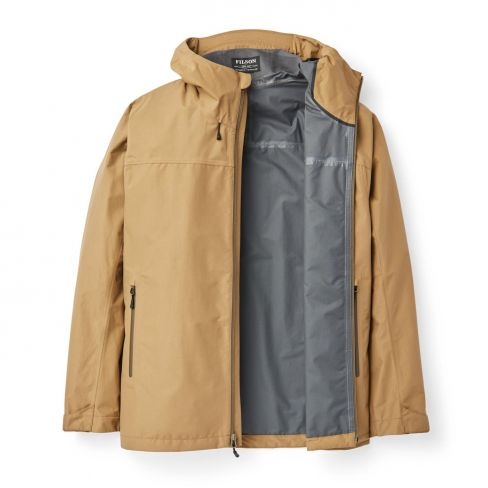 Filson Men's Swiftwater Rain Jacket - Dark Tan