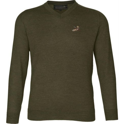 Seeland Noble Sweater With Pheasant Motif