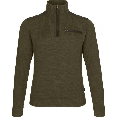 Seeland Buckthorn Half Zip Sweater