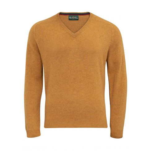 Streetly Vee Neck Pullover Gazelle