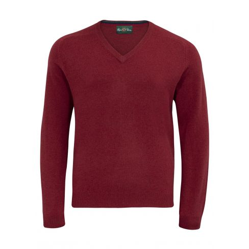 Streetly Vee Neck Pullover Magma