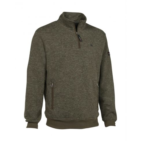Muntjac Double Layer Sweater High Zip