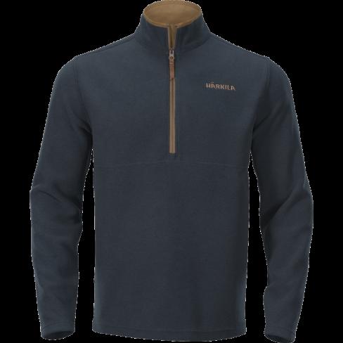 Harkila Sandham Fleece Pullover Dark Navy