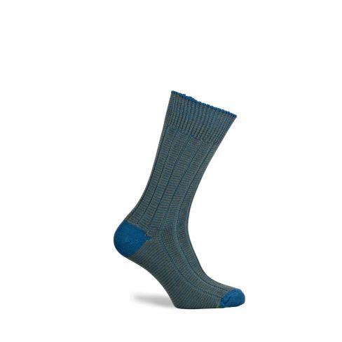 Dartmoor Merino Wool Mid Length Boot Socks Hummingbird