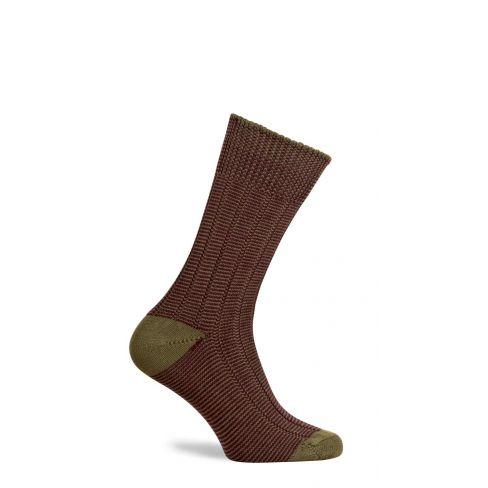 Dartmoor Merino Wool Mid Length Boot Socks Old Sage
