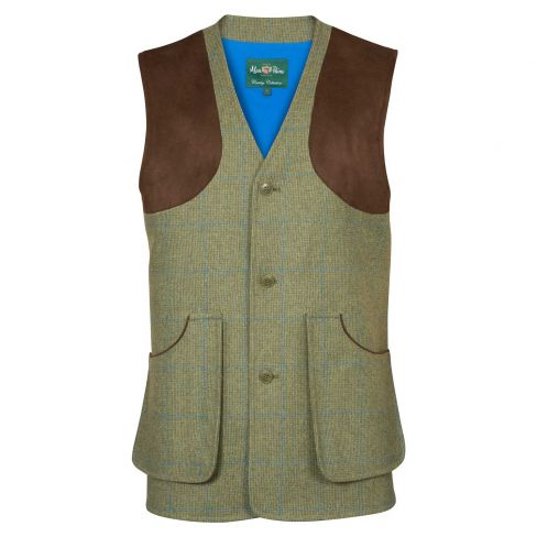 Alan Paine Combrook Shooting Vest - Lagoon