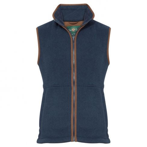 Aylsham Men's Fleece Gilet Blue Steel