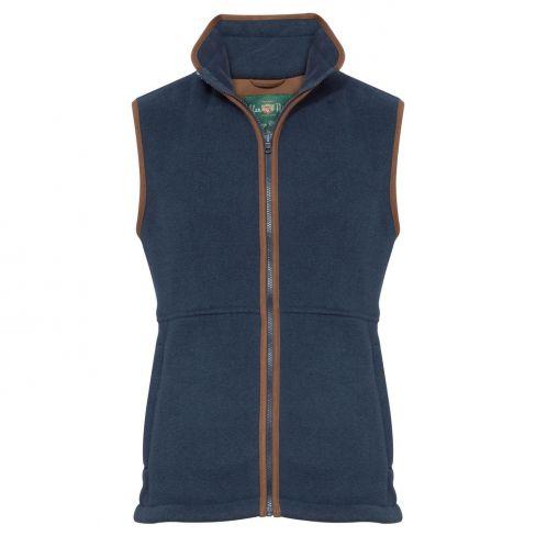 Aylsham Men's Fleece Gilet Blue Steel