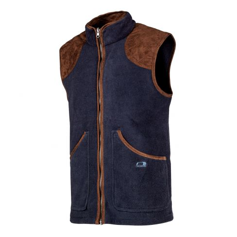 Baleno Fleece Shooting  Gilet - Navy