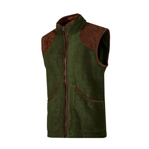 Baleno Fleece Shooting Gilet - Khaki