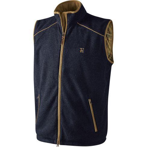 Harkila Sandham fleece Waistcoat Dark Navy