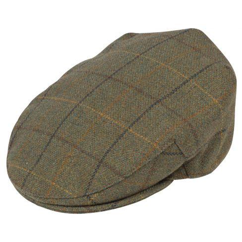 Alan Paine Rutland Tweed Flat Cap