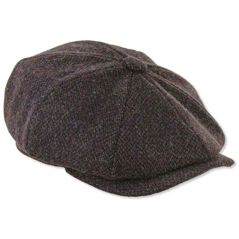 Newsboy Harris Tweed Cap