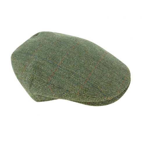 Helmsdale Tweed Waterproof Cap