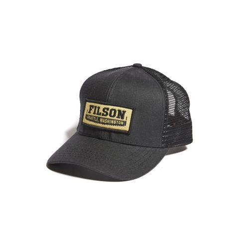 Filson Mesh Logger Cap - Black