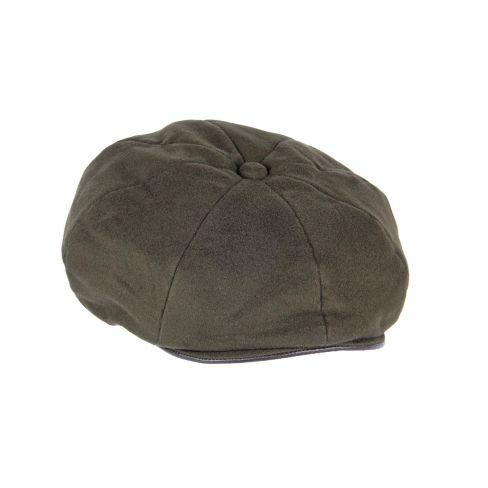 8 Piece Moleskin Cap