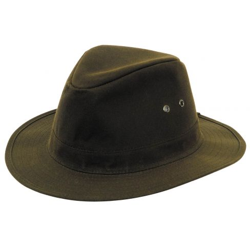Indiana Waterproof Wax Hat