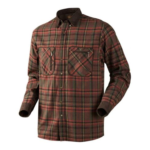 Harkila Pajala Shirt Red Check