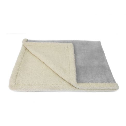 Sherpa blanket - Grey