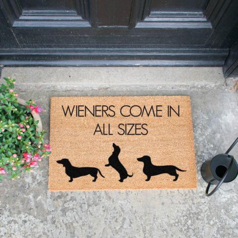 Wiener Coir Doormat