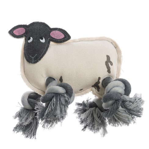 Sheep Throw Dog Toy