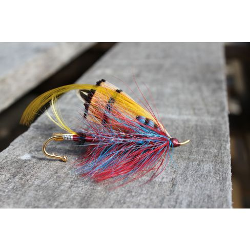 Fishing Flies Brooches Large-Double Fly