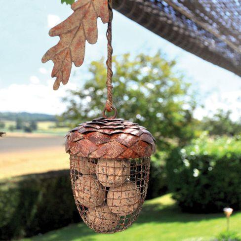 Acorn Ball Bird Feeder Large Single