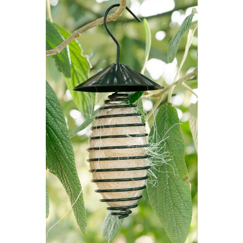 Birds Nesting Wool Dispenser/Feeder With Wool