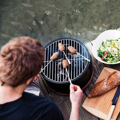 Portable Table Top BBQ - Black