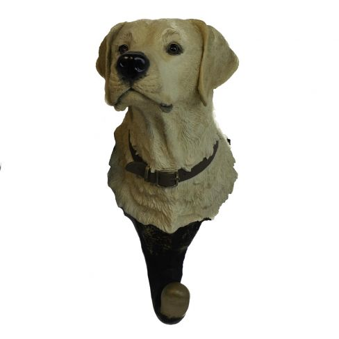 Labrador Head Hangup Yellow