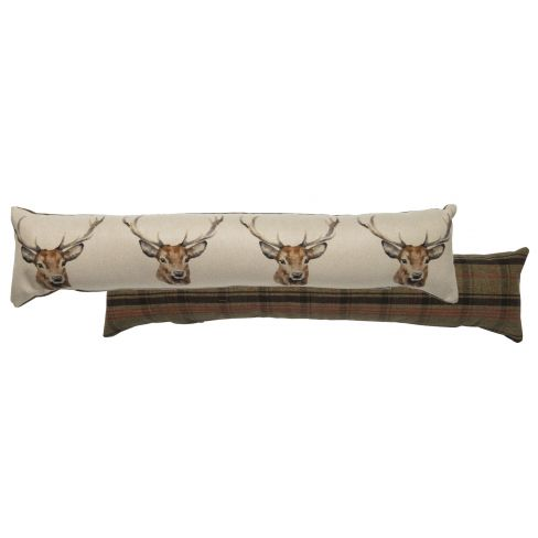Draught Excluder Stag Head