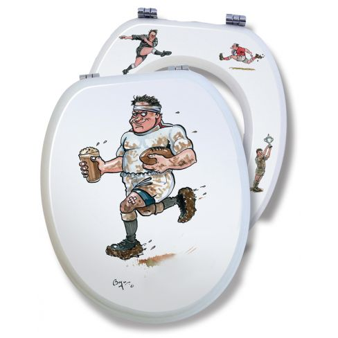 Loo Seat Rugby