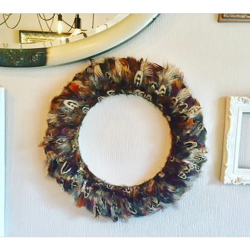 Full Feathered Wreath