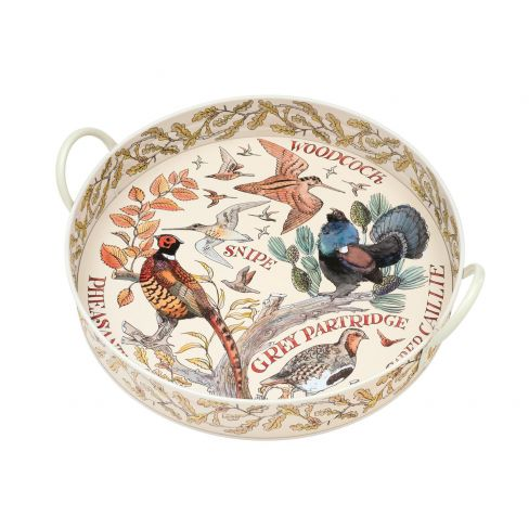 Large Game Bird Tin Tray