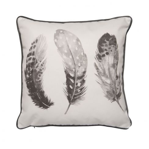 Feather Cushions Grey