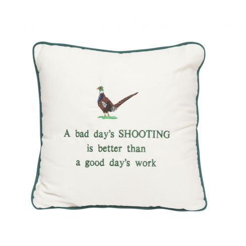 A Bad Day Shooting Cushion