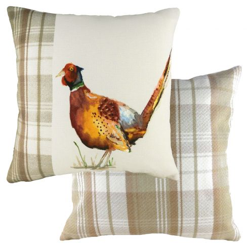 Handpainted Cushions - Pheasant