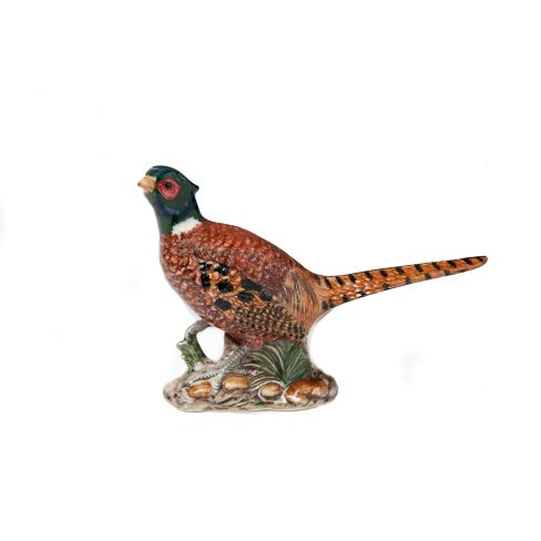 Feisty Pheasant - Ceramic Figurine