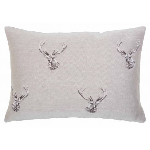 Highland Stags - Tapestry Cushion - 33 x 46