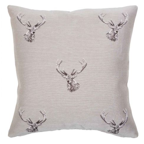 Highland Stags - Tapestry Cushion - 46 x 46