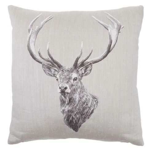 Stag - Tapestry Cushion - 60 x 60