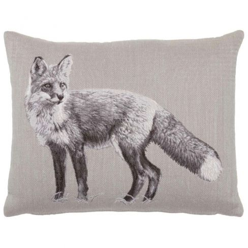 Fox Linen Cushion - 33 x 46