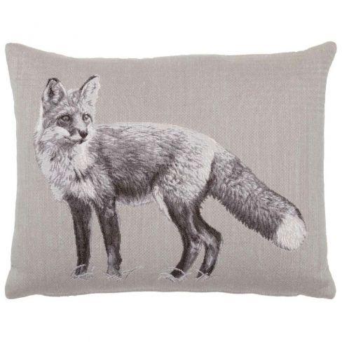 Fox Linen Cushion - 33 x 46