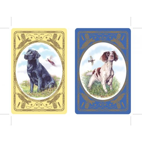 Labrador and Spaniel Playing Cards