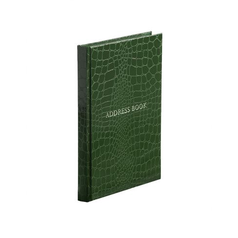 Address Book - Portrait - Green