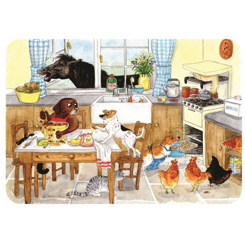 Too Many Cooks Glass Board/Surface Protector
